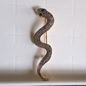 Vintage Snake Brooch